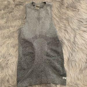 Gymshark charcoal gray vest